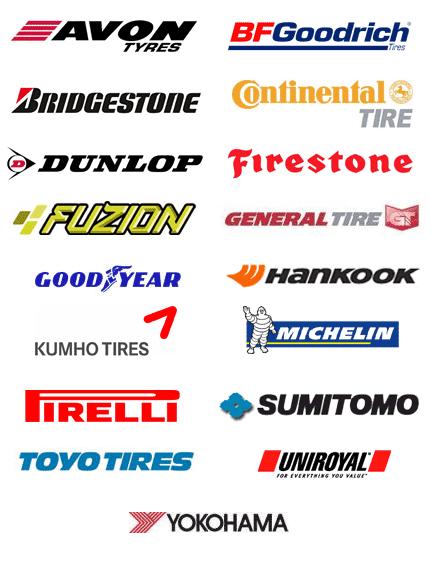 pneus par marque